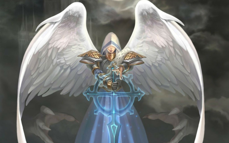I Think A Male Angel Should Be Armor